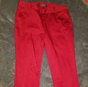 Ralph Lauren red pants